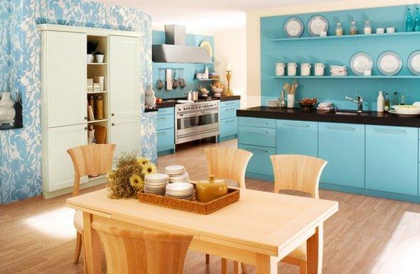разнообразие красивых обоев для кухни