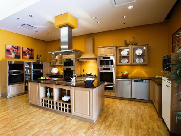 фотокаталоги красивых обоев для кухни