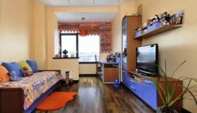 дизайн обоев для узкой комнаты