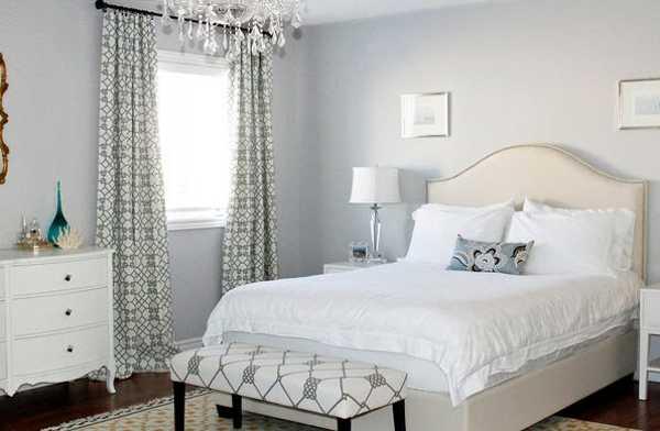 Благодаря удачному использованию оттенков даже стены маленьких комнат или хрущевок могут смотреться очень привлекательно