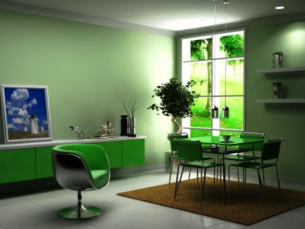 Фото: пример сочетания с мебелью