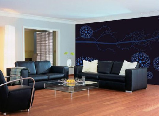 modern wall paper decoration ideas