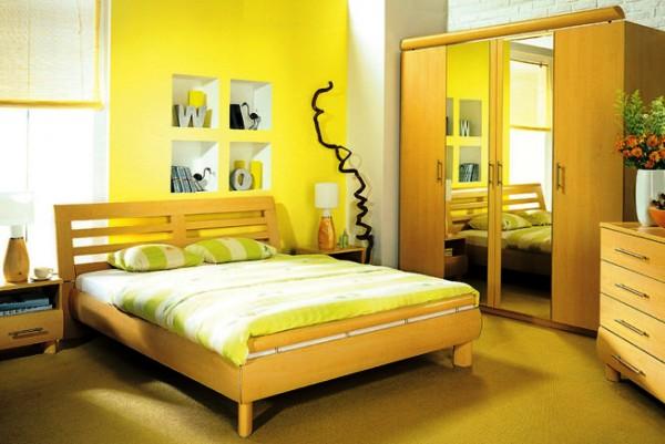 Фото: желтый делает интерьер позитивным и жизнерадостным