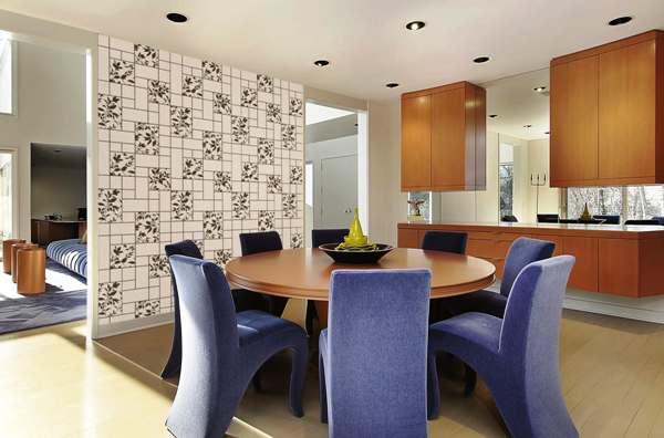 Фото в интерьере столовой и кухни