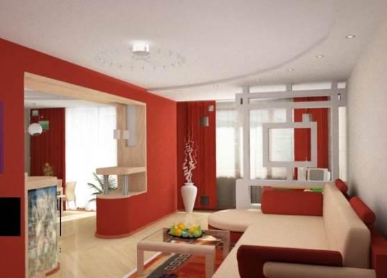 Использование в интерьере для кухни и гостиной