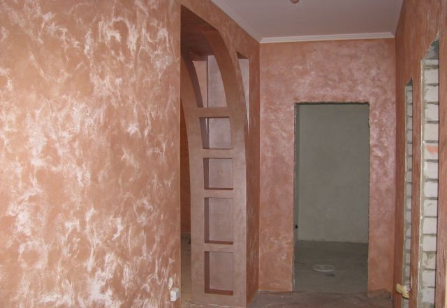Дизайн коридора под камень фото 15