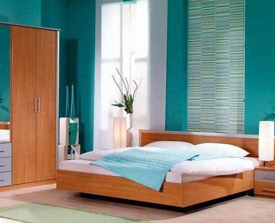 Фото: гармоничное сочетание с мебелью светло-коричневого оттенка