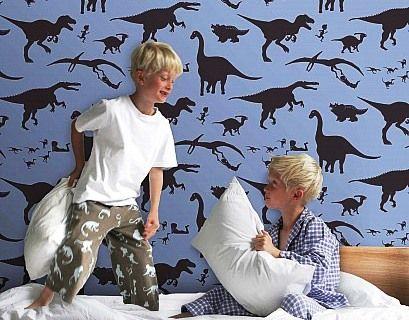 Детские обои для мальчика и как они в комнате фото