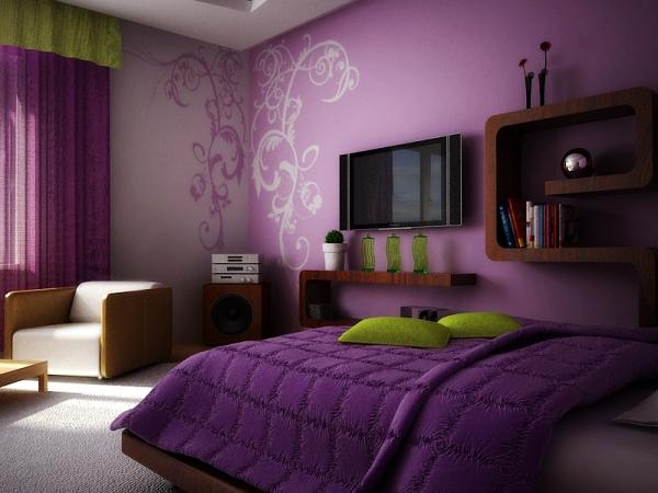 Фото: использование привлекательного узора сделай дизайн комнаты еще более притягательным