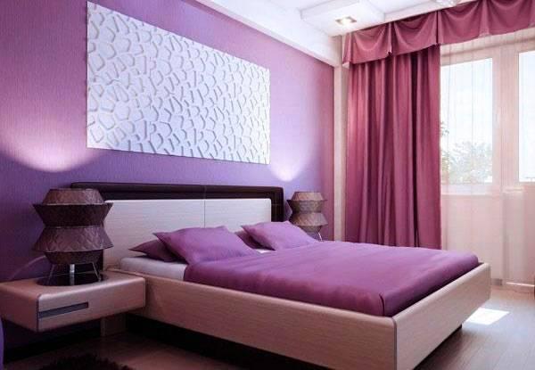 Фото: сочетание с более светлой мебелью и шторами