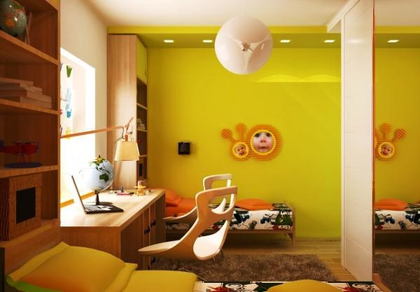 Фото: благодаря своей универсальности этот цвет будет уместен и в комнате для малышей