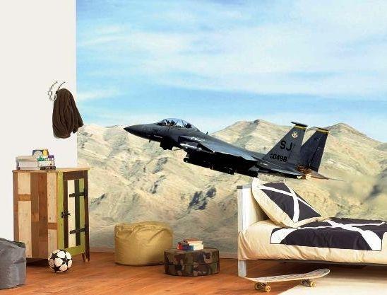 фото обои с самолетами для детской комнаты мальчика