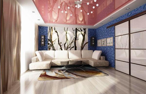 Фото: интерьер даже маленького помещения будет смотреться очень привлекательно