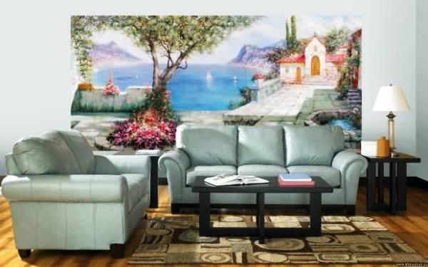 Фото: романтический сказочный на стене сюжет выглядит просто очаровательно