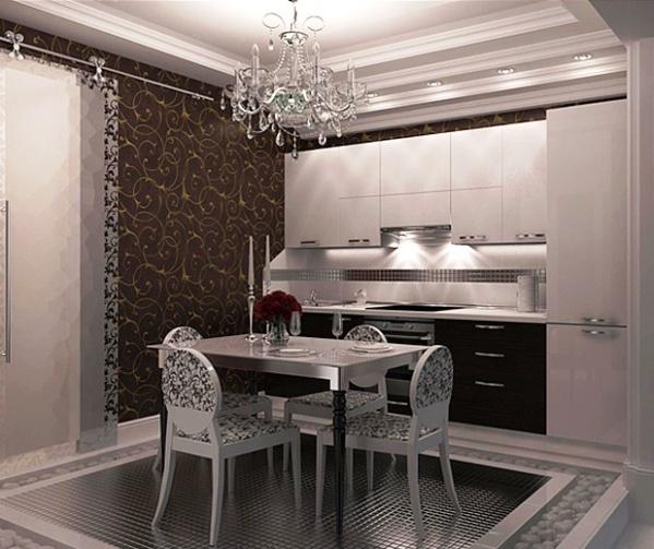Фото: специалисты по оформлению внутреннего пространства посоветуют Вам, подходят ли такие обои под стиль Вашего помещения