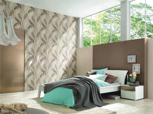 Фото: виниловые полотна можно использовать даже в солнечных спальнях без боязни выгорания