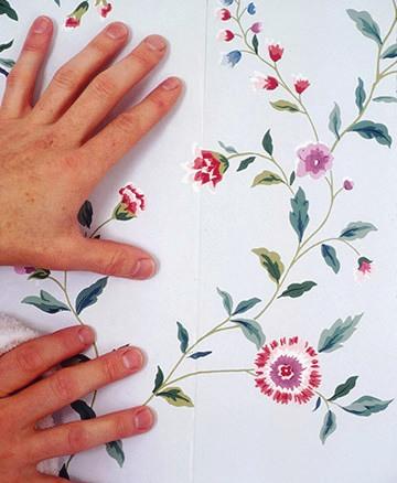 Фото: при наличии рисунков и орнаментов необходимо внимательно их подбирать