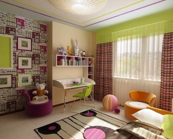 Фото: вот таким способом можно выполнить зонирование пространства в комнате