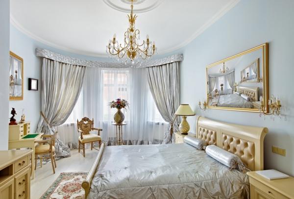 Фото: классическая спальня
