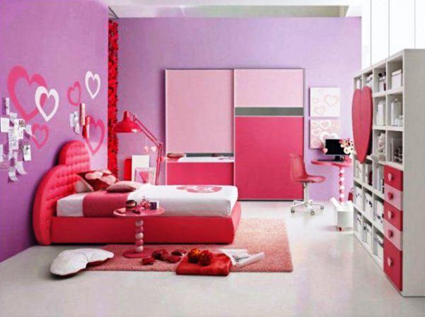 модные обои для детской комнаты 2015 для девочки розовые
