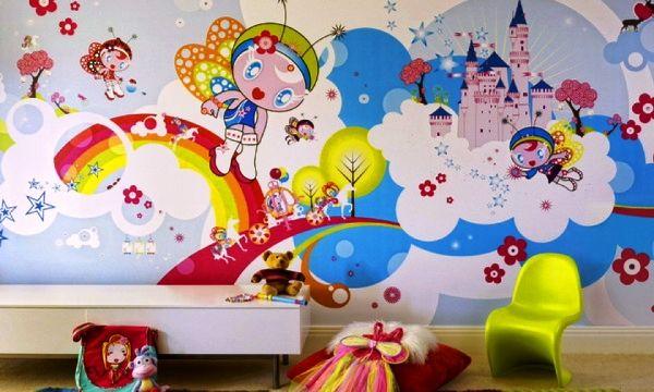 модные обои для детской комнаты 2015 рисунки