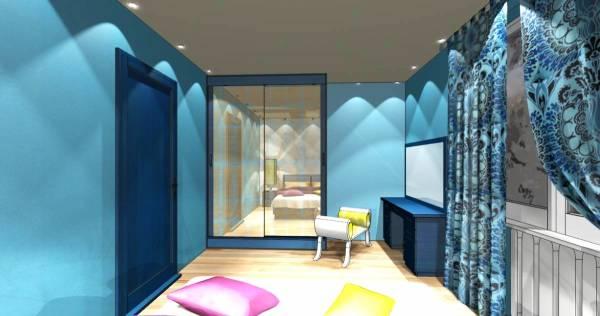Привлекательный дизайн интерьера спальни