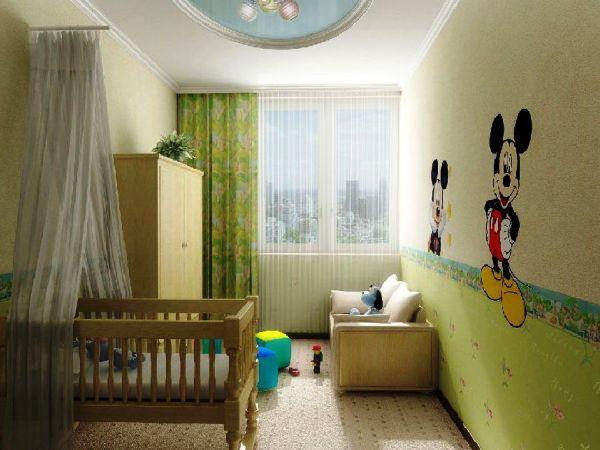 Фото: этот цвет будет вполне уместен и для стен комнаты новорожденного малыша