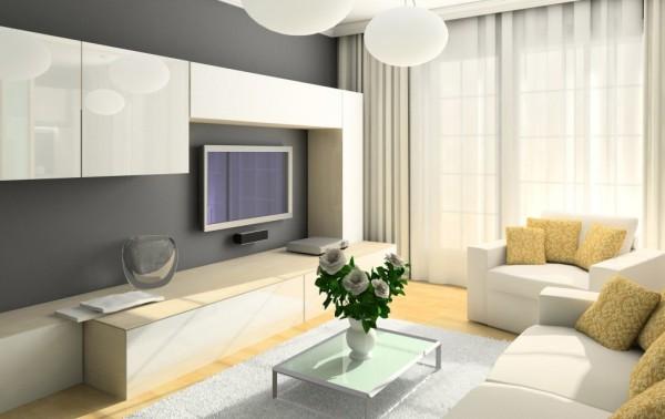 Фото: гармоничное сочетание со светлыми шторами