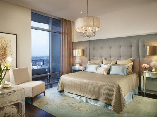 Классическая роскошная спальня - образец стиля