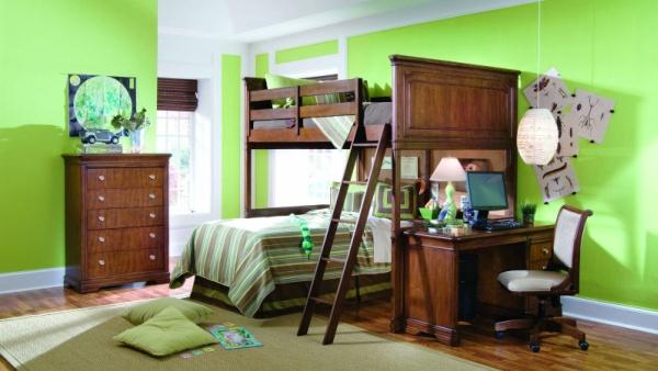 Фото: особенно привлекательной является комбинация с темно-коричневой мебелью