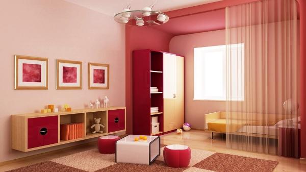 Фото: вот как делается зонирование комнаты