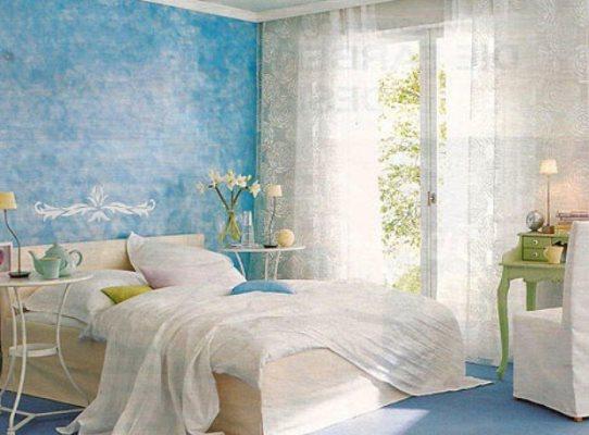 Прозрачные шторы расширяют восприятие цвета