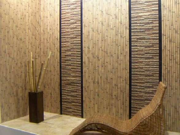 Бамбук, кресло, ваза