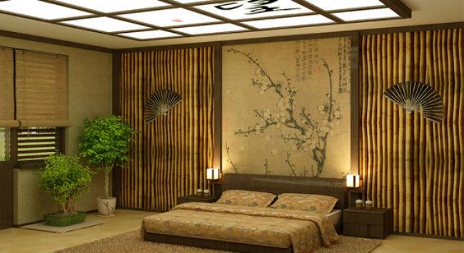 Бамбуковая спальня