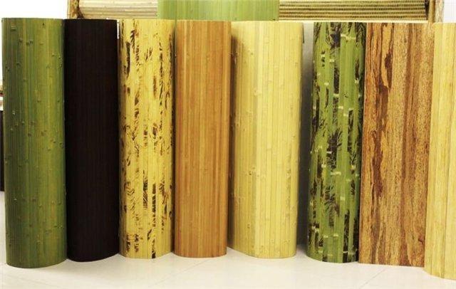 Бамбуковые обои_Рулоны