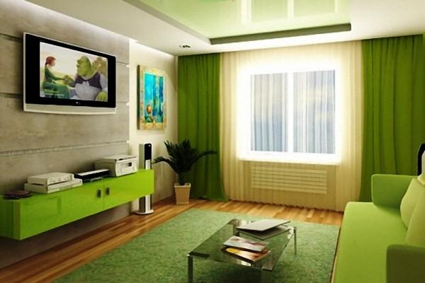 Привлекательный интерьер возможен лишь в случае правильного подбора обоев, штор, мебели и дополнительных аксессуаров