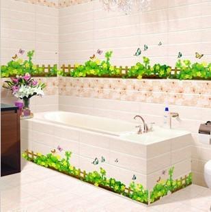 Летний пейзажик для ванной
