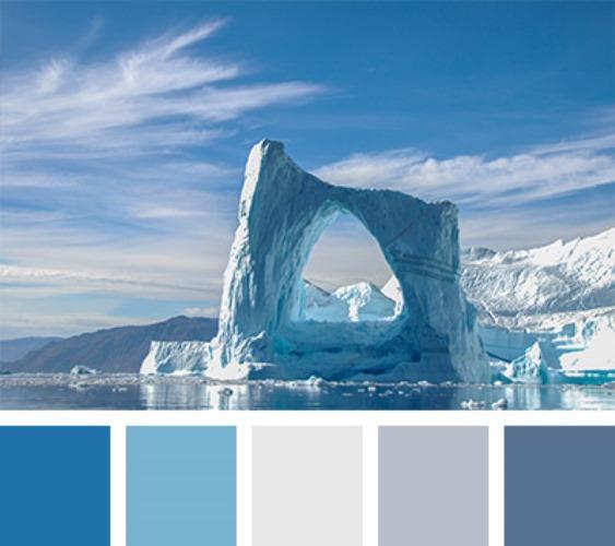 Многоликость голубой палитры