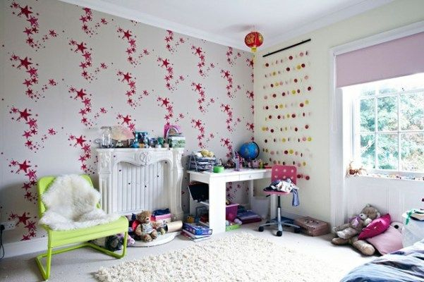 Обои для детской комнаты, 32 фото идей детских обоев