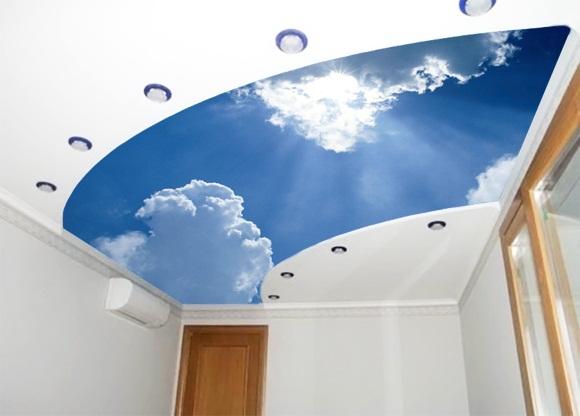Фотообои на потолок фото 3d, звездное небо, облака, как видео инструкция клеить своими руками