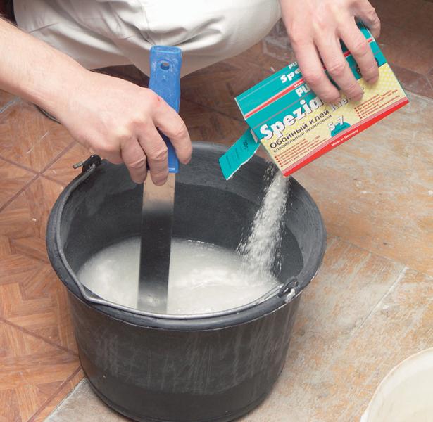 Приготовить клей своими руками