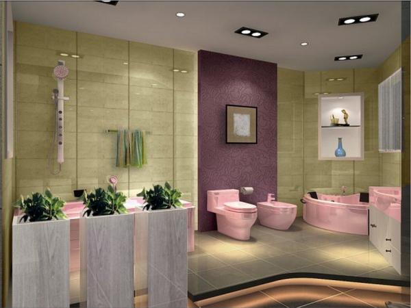 Ванная комната моющаяся