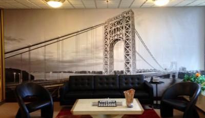 фотообои мост для гостиной