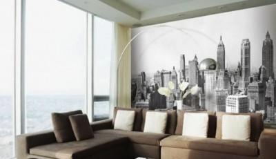 фотообои в гостиную нью-йорк