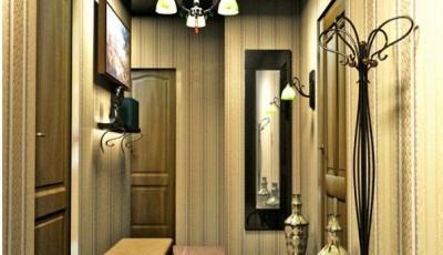 как правильно выбрать обои для дизайна интерьера узкой маленькой гостиной хрущевки