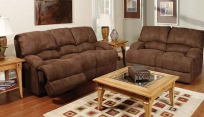 какие обои подобрать к коричневой мебели