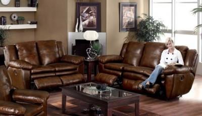 какой цвет обоев выбрать к коричневой мебели