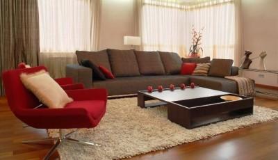 коричневая мебель какие обои лучше выбрать