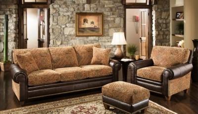 коричневая мебель в интерьере какие обои подобрать