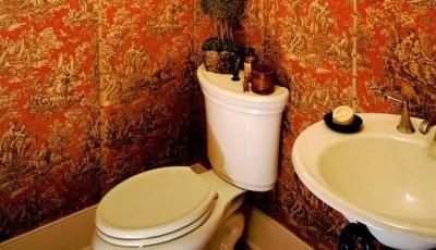 красивые обои для туалета